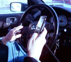 driving with mobile