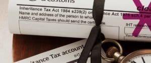 Inheritance tax forms