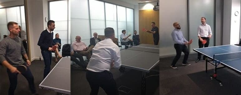 table tennis charity