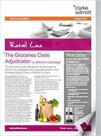 Retail line February 2015 front cover