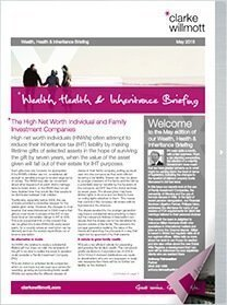 Wealth, Health and Inheritance Briefing – January 2015