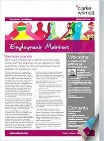 Employment Matters – November 2014