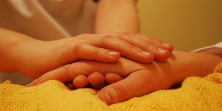 Duty of Care Image - Hands