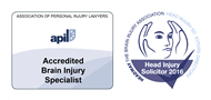 APIL Brain Injury Specialist & Headway Head Injury Solicitor 2016 Logos