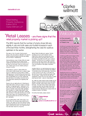 Retail Line - property conference edition 2013 ebook image front cover