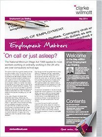 Employment Matters – May 2014