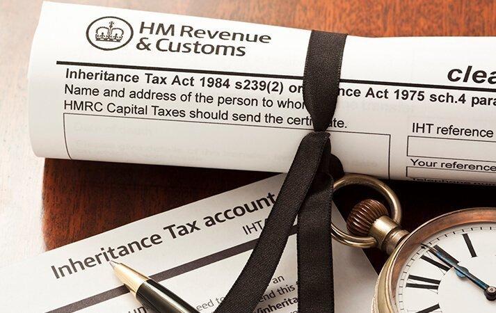 HMRC inheritance tax documents