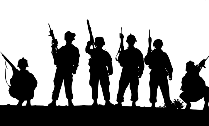 The Deal That Never Was - war image silhouettes