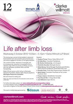 Life after limb loss poster