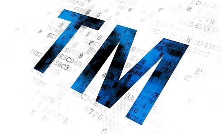 Trade mark 'TM' symbol