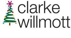 Clarke Willmott Solicitors Christmas logo