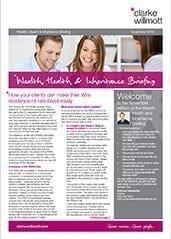 Wealth Health and Inheritance Briefing – November 2016