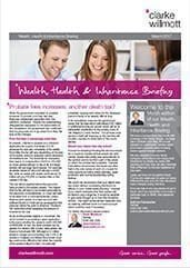 Wealth Health and Inheritance Briefing – March 2017