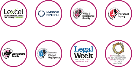 Industry accreditation and recognition logos