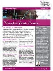Disruptive asset finance – Summer 2017