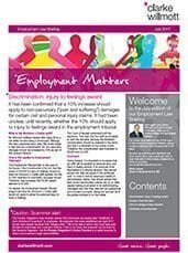 Employment Matters - July 2017 front cover