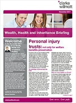 Wealth Health and Inheritance Briefing - November 2017