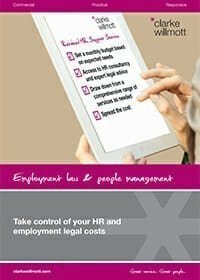 HR and employment legal costs