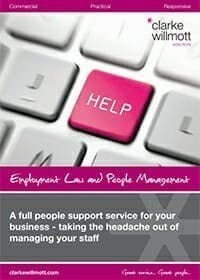 Our full employment and HR services (Employment law and people management)