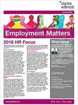 Employment Matters - January 2018