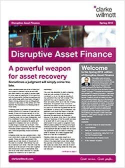 Disruptive Asset Finance - Spring 2018