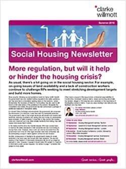 Social Housing Newsletter - Summer 2018