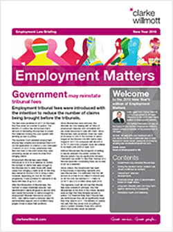 Employment Matters - New Year 2019
