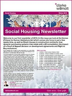 Social Housing Newsletter - Winter 2019