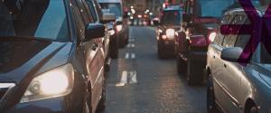 Car traffic collision