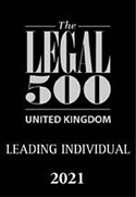 Legal 500 UK Leading Individual