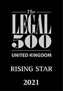 Legal 500 UK Rising Star