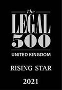 Legal 500 UK Rising Star