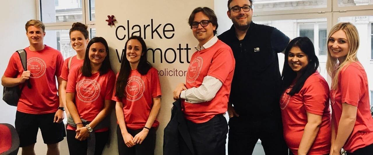 London team that took part in the London Legal Walk 2018